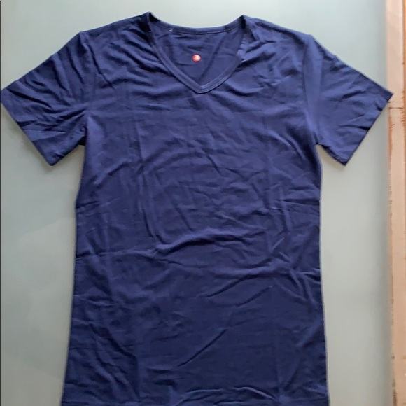 Other - Men's Casual Short Sleeve V-Neck T-Shirt (Size M)